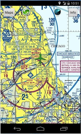 USANav - Aviation Maps - screenshot