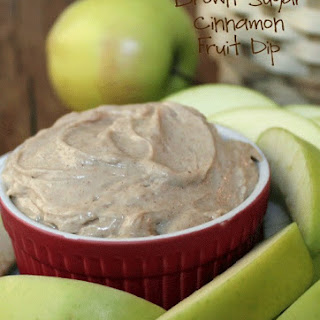 Brown Sugar Cinnamon Fruit Dip