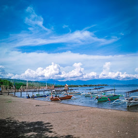 Lanskap by Eka Astiputra - Landscapes Beaches ( laut, blue, pantai, indonesia, lanscape,  )