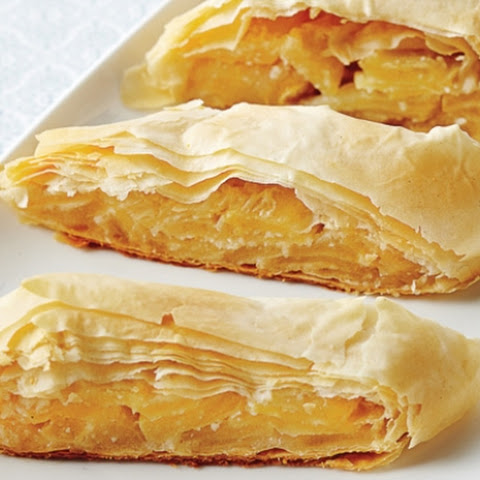 Apple Phyllo Strudel