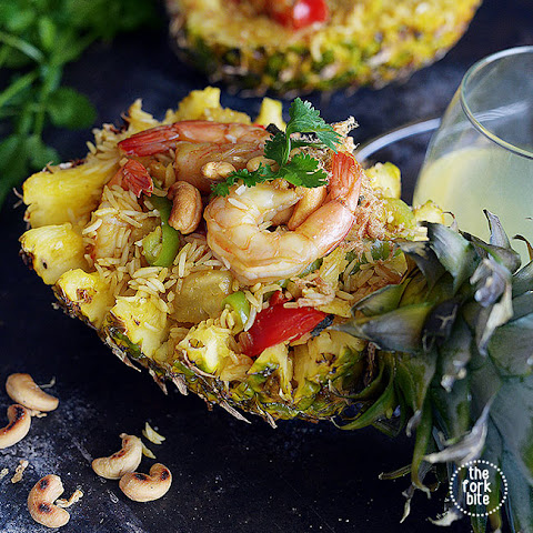 Khao Pad Sopparot AKA Thai Pineapple Fried Rice