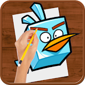 APK App How to Draw :Angry Birds for BB, BlackBerry