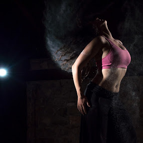 Release by Vassilios Zacharitsev - People Portraits of Women ( female, on location, strobist, dust, dark, dance )