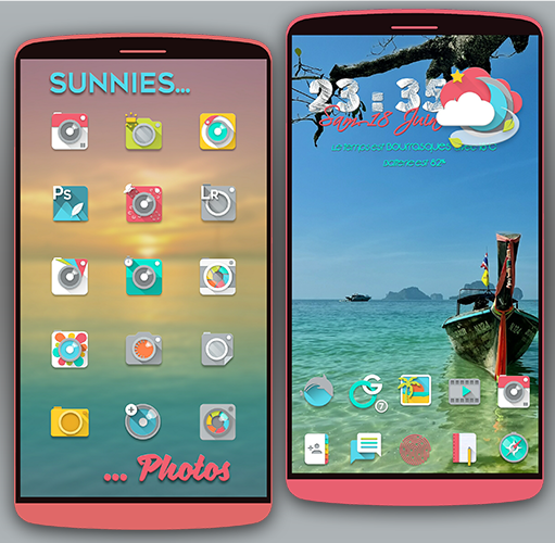 Sunnies Icon pack Screenshot 3