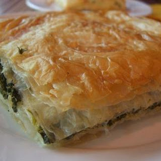 (Greek spinach and feta pie)