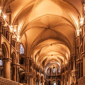 Canterbury Cathedral. by Simon Page - Buildings & Architecture Places of Worship