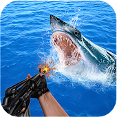 Game Angry Shark Hunting && Sniping apk for kindle fire
