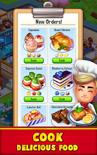Food Street - Restaurant Game APK for Ubuntu