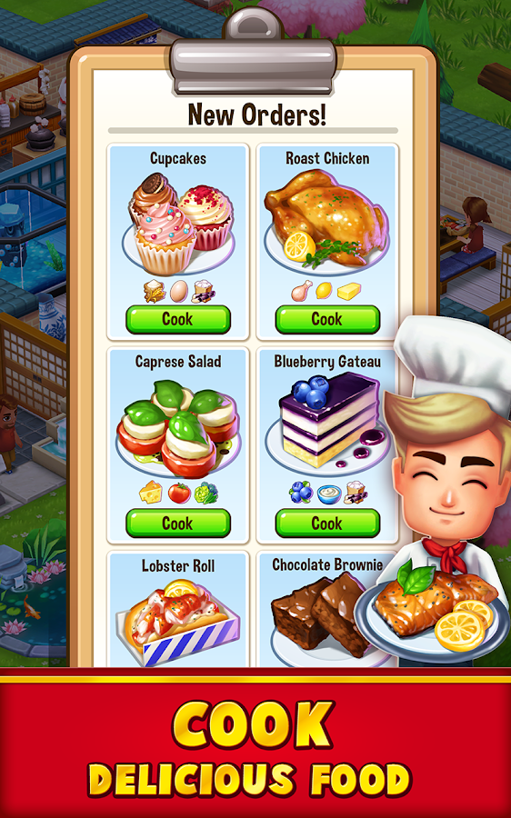 Food Street - Restaurant Management & Cooking Game Screenshot 13