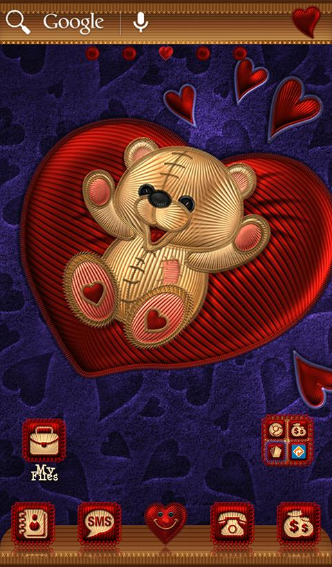 TSF NEXT TEDDY BEAR THEME Screenshot 3