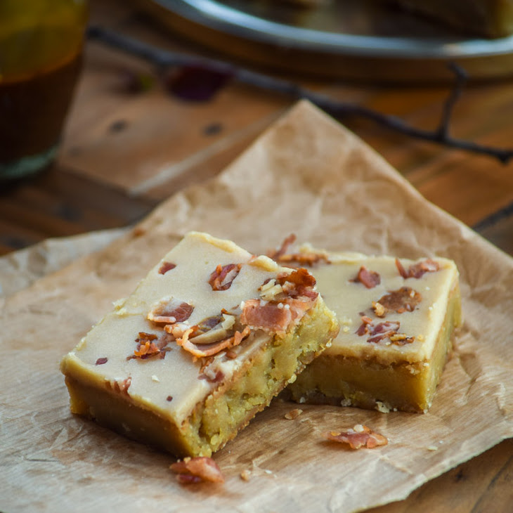 Maple Bacon Blondies Recipe | Yummly
