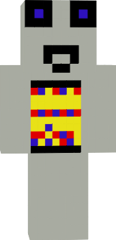Czlowiek w stroju kosmonauty