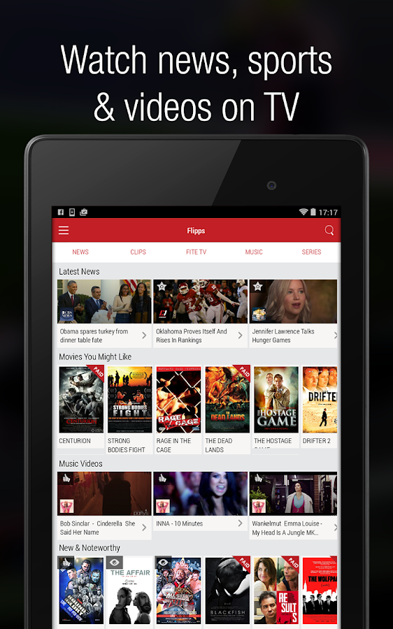 Flipps – Movies, Music & News Screenshot 16