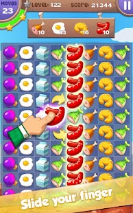 Cooking Mania: Ultra Fun Free Match 3 Puzzle Game