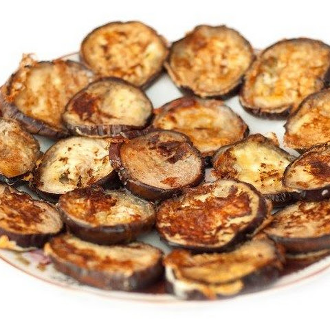 Oven Fried Eggplant