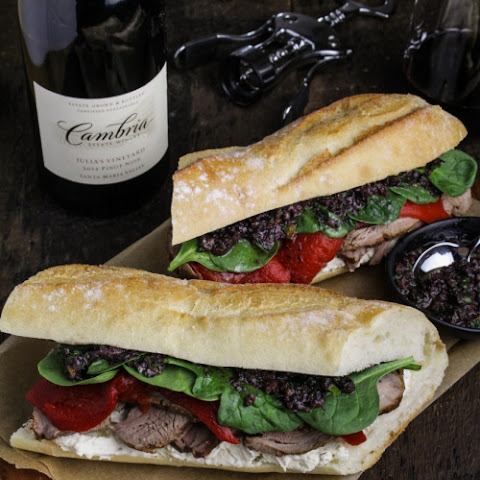 Ultimate Mediterranean Lamb Sandwich