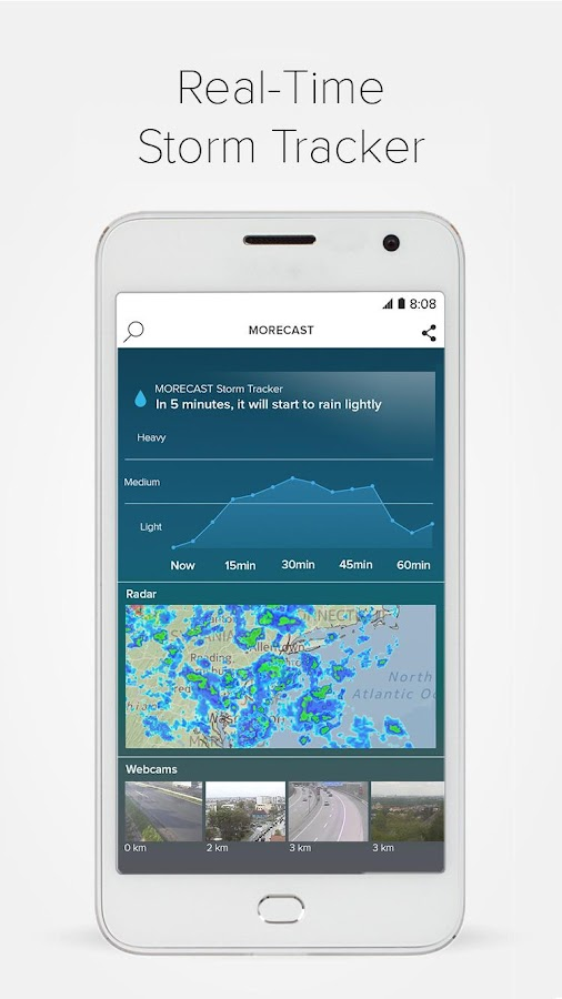 Morecast™ - Weather Forecast with Radar & Widget Screenshot 4