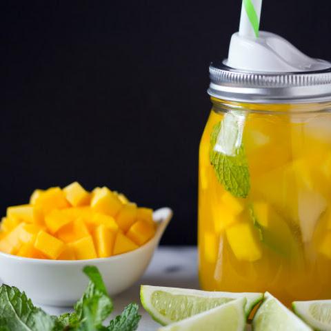 how to make mango iced tea recipe
