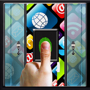 Glass Door Lock finger prank for Android