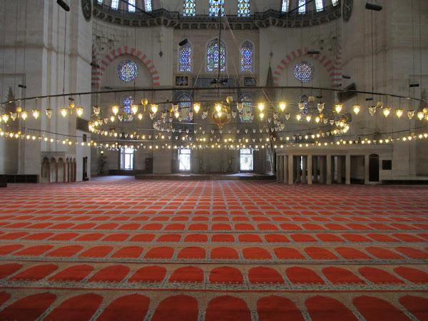 Süleymaniye Mosque Interior