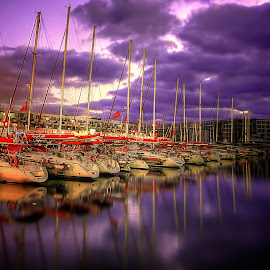 marina by Abu  Janjalani Abdullah - Transportation Boats ( boats, transportation )