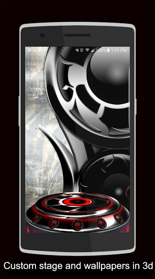 Twister Red Iconpack &for NEXT Screenshot 3