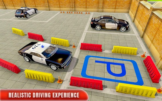 Police Car Parking Adventure 3D APK screenshot thumbnail 5