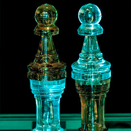Chess_000030 by Pictures that Pop - Artistic Objects Glass