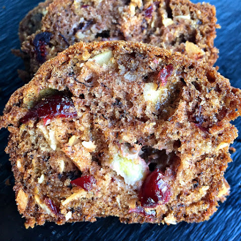 Banana Cranberry Coconut Bread