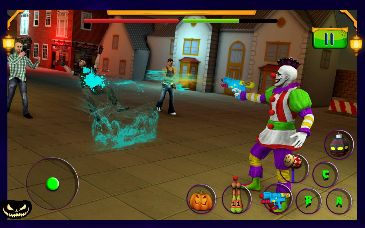 Scary Clown : Halloween Night Screenshot 7