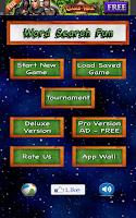 Screenshot of Word Search Fun