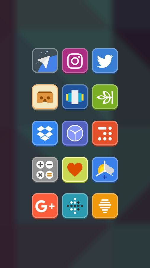 Cosmic Icon Pack Screenshot 1