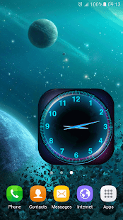 How to download Galaxy Analog Clock Widget 1.0 unlimited apk for android