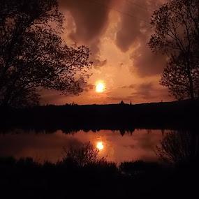 Goodbye by Libuše Kludská - Landscapes Sunsets & Sunrises