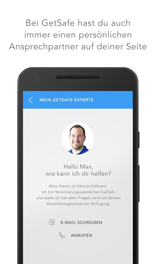 GetSafe Versicherungsmanager Screenshot 3