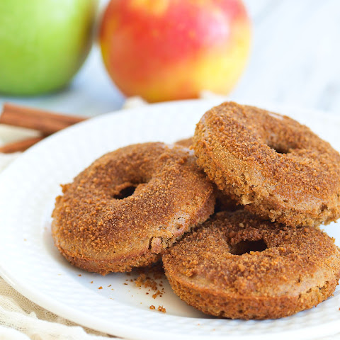 Baked Spiced Apple Cider Donuts