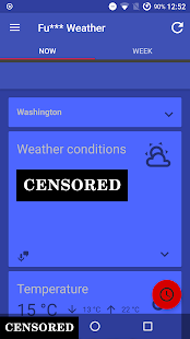 Fu*** Weather (Funny Weather) Screenshot