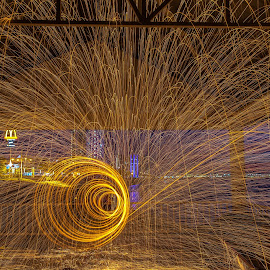 @Karpal Singh Drive by Lim Keng - Abstract Light Painting