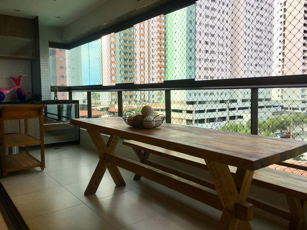 Apartamento com 3 dormitórios à venda, 110 m² por R$ 590.000 - Bessa - João Pessoa/PB