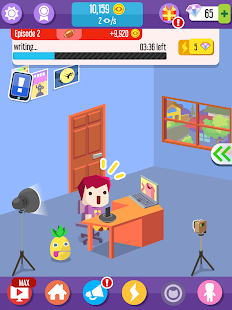 Vlogger Go Viral - Tuber Game Screenshot