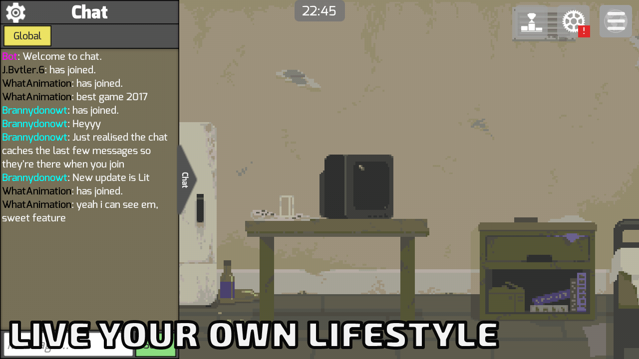 Life Simulator Screenshot