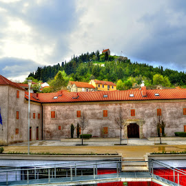 ALKA KNIGHTS COURT by Ante Budimir Bubinho - Landscapes Travel ( knights, alka tournament, sinj )