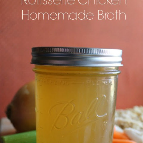 Rotisserie Chicken Broth