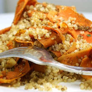 Citrus and Spice Carrots with Quinoa