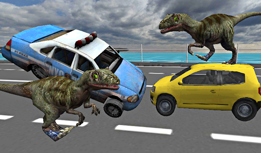 Download Full Dino in City-Dinosaur N Police 1.27 APK