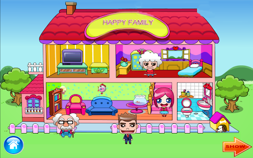 Game Happy Family Home Decoration Apk For Windows Phone Android Games And Apps