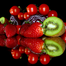 fruits with vegetebles by LADOCKi Elvira - Food & Drink Fruits & Vegetables ( vegetables, flowers )