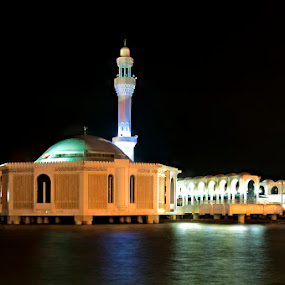 Floating Mosue by Jon Soriano - Buildings & Architecture Statues & Monuments ( jeddah, floating mosque, mosque, jonr, corniche )