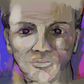 probando mi nuevo monoprice drawing tablet, que creen? by Ulises Rivero - Painting All Painting