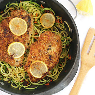 Lemon Almond Crusted Chicken Recipes